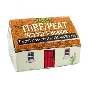 Irish Turf/Peat Incense & Burner
